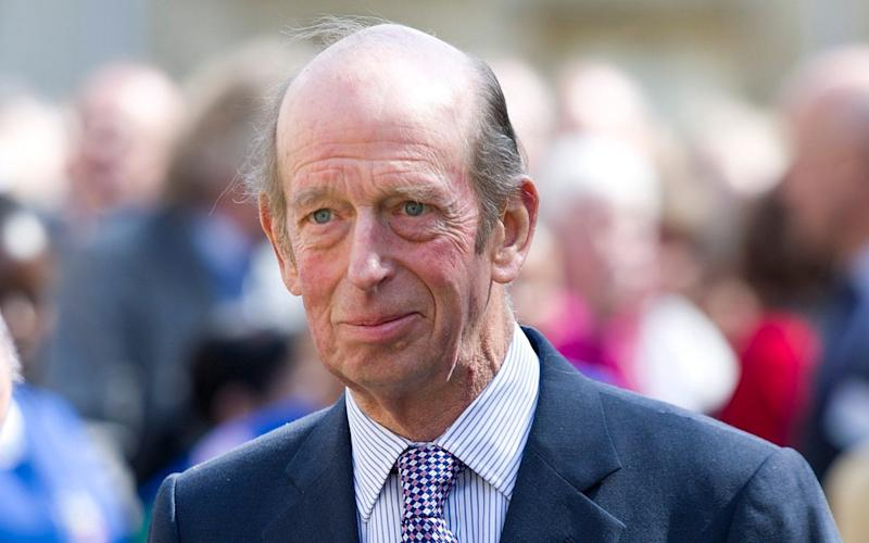 The Duke of Kent collided with a Mini on June 2 - Geoff Pugh
