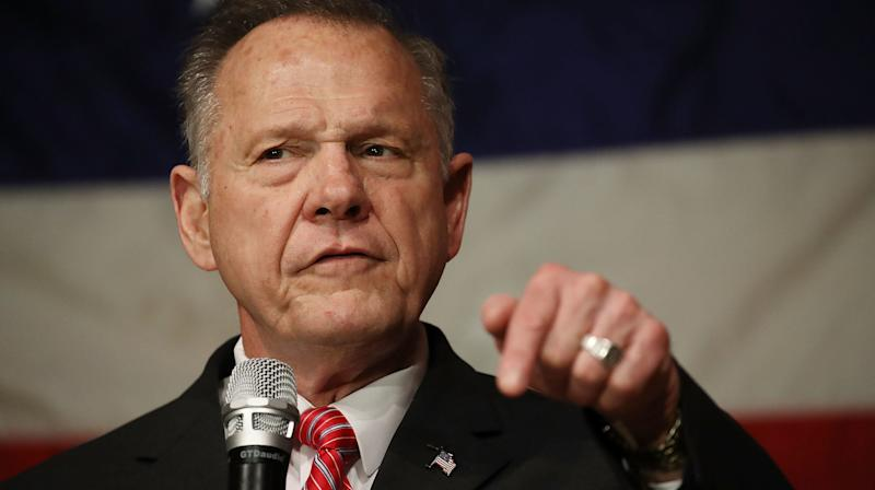 Roy Moore's Boast About His 'Alabama Values' Did Not Go Well