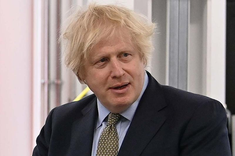 Boris Johnson has urged firms not to let staff go