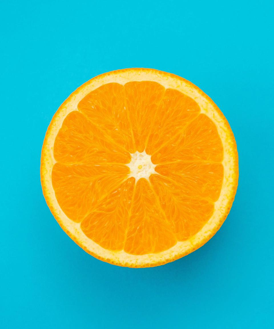 "<h3>Oranges</h3><br>We don't mean to minimize citrus fruits' vitamin C content. Seventy mg of C per orange isn't too shabby. Plus, they're a good source of both fibre and potassium, two nutrients that promote <a href=""https://www.sciencedaily.com/releases/2013/12/131220120847.htm"" rel=""nofollow noopener"" target=""_blank"" data-ylk=""slk:a healthy heart"" class=""link rapid-noclick-resp"">a healthy heart</a>.<span class=""copyright"">Photo: Getty Images.</span>"
