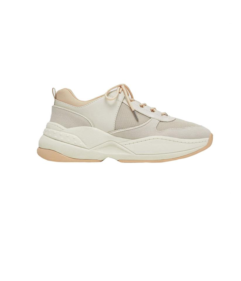 "<p>Mesh Combination Sneakers, $70,<a rel=""nofollow"" href=""https://www.zara.com/us/en/mesh-combination-sneakers-p16410301.html?v1=6597380&v2=796016""> zara.com</a> </p>"