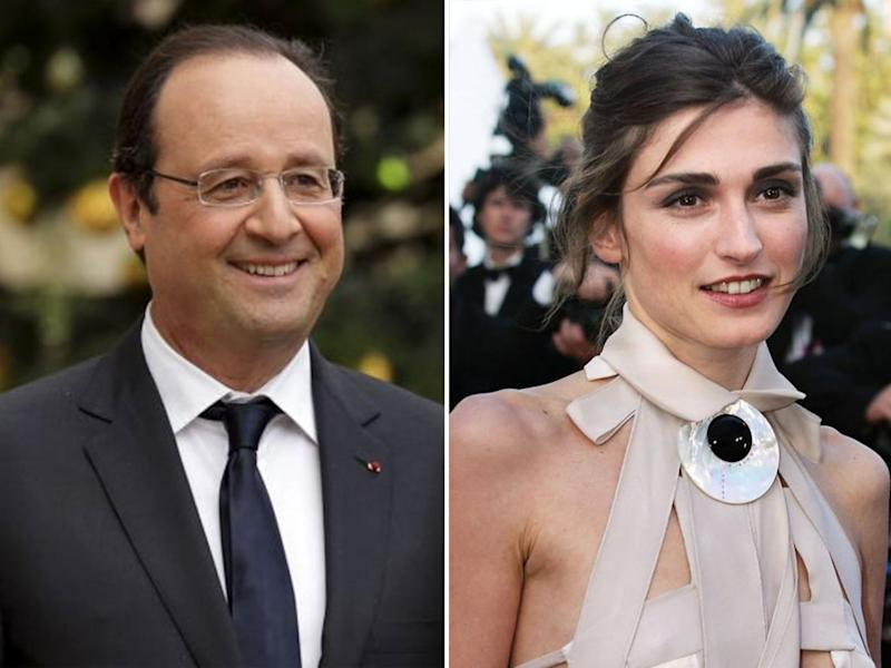 Despite being nicknamed 'Monsieur Normal' Francois Hollande enlivened French politics by having an affair with actress Julie Gayet