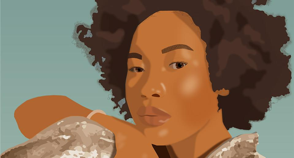 Kedean Smith shares her thoughts on growing up as a 'palatable' Black girl in Canada. Portrait of Kedean Smith by illustrator Victoria Morris.