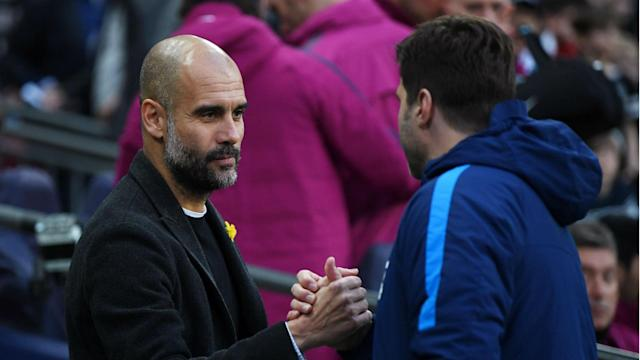 Tottenham boss Mauricio Pochettino has the odds against him when he faces Pep Guardiola on Monday - but that has not stopped him previously.