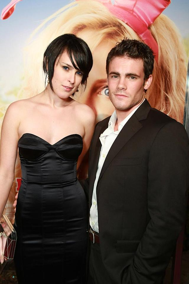 """<a href=""""http://movies.yahoo.com/movie/contributor/1800260809"""">Rumer Willis</a> and Micah Alberti at the Los Angeles Premiere of <a href=""""http://movies.yahoo.com/movie/1809921361/info"""">The House Bunny</a> - 08/20/2008"""