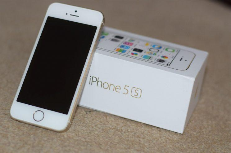 This woman's new iPhone 5S came loaded with dozens of celebrity