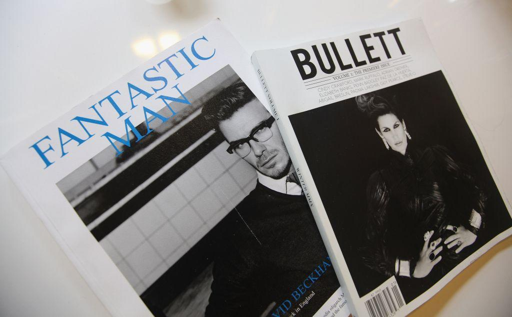 Magazines are seen in a room at the gay resort hotel, THE OUT NYC, in mid-town Manhattan. A 2011 study, which collected data from 18 countries around the world, found that New York was the No. 1-rated city destination for LGBT travelers globally.