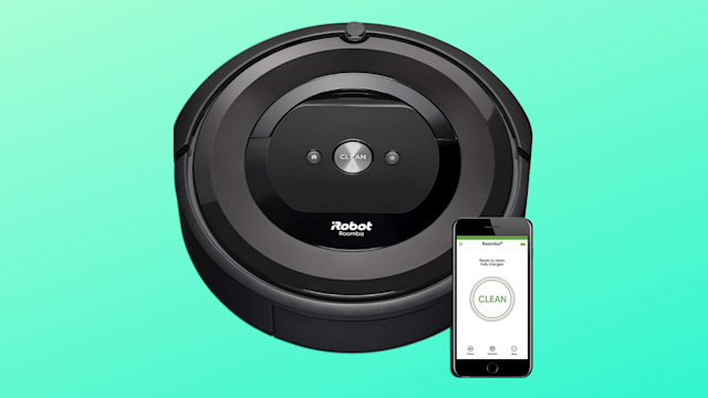 Save $101 on a Roomba you can control with your phone! (Photo: Amazon/Yahoo Lifestyle)