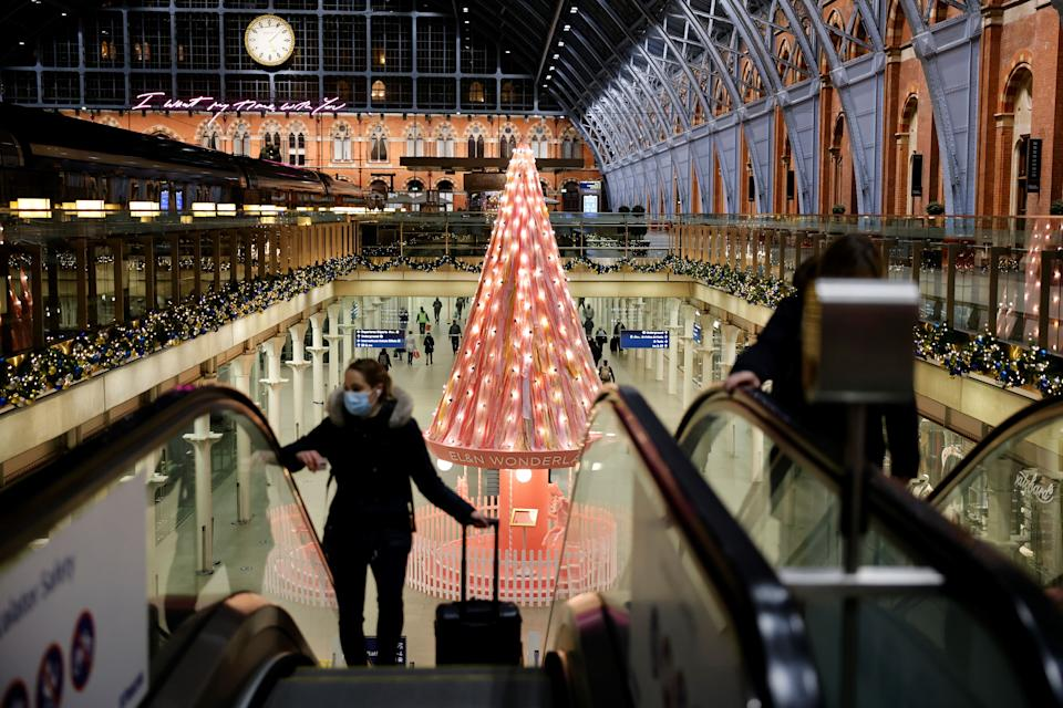 <p>King's Cross station will be shut from December 25 </p>AFP via Getty Images