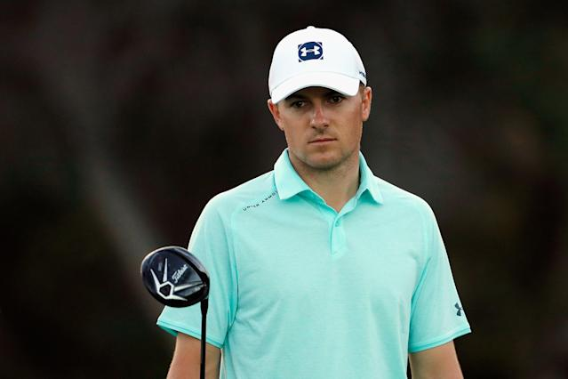 Jordan Spieth sees amateur golfers ignoring a new rule requiring a player to drop a ball from knee height.