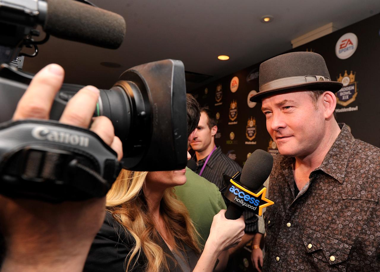 NEW ORLEANS, LA - JANUARY 31:  Actor/comedian David Koechner arrives at EA SPORTS Madden Bowl XIX at the Bud Light Hotel on January 31, 2013 in New Orleans, Louisiana.  (Photo by Stephen Lovekin/Getty Images for Bud Light)