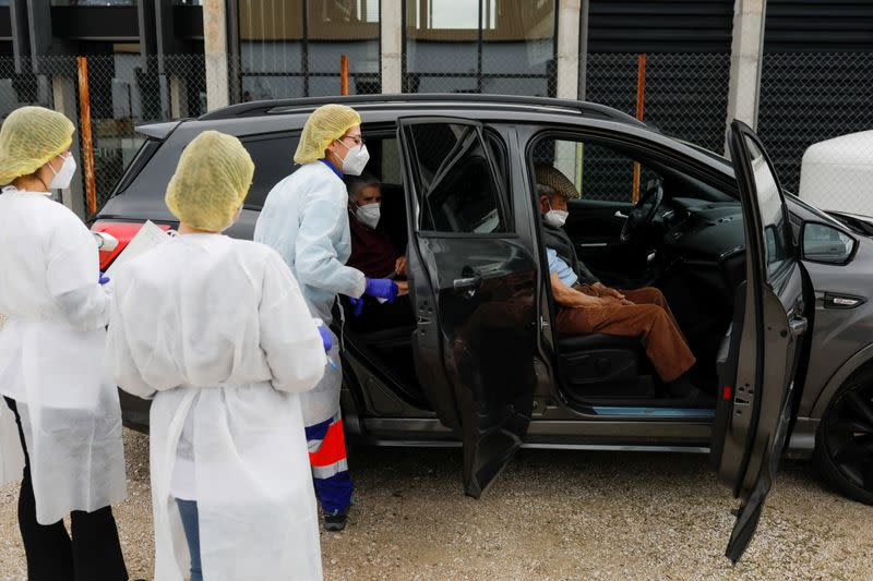 FILE PHOTO: Outbreak of the coronavirus disease (COVID-19) in Ronda