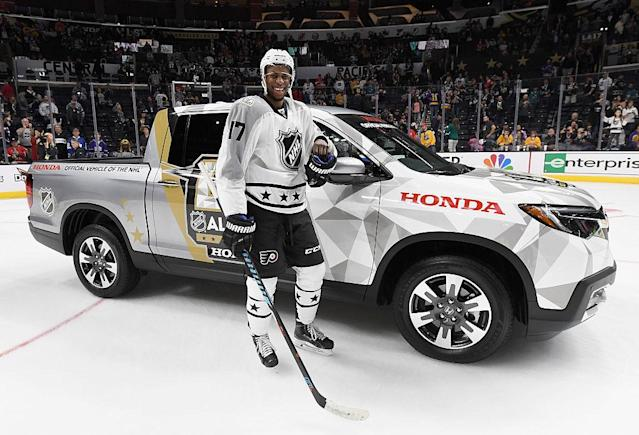 2017 Honda NHL All-Star Game at Staples Center on January 29, 2017 in Los Angeles, California.