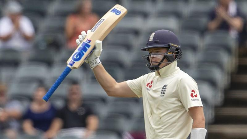 England's Ollie Pope (pic) and Joe Root have both hit 50s in the fourth Test against South Africa