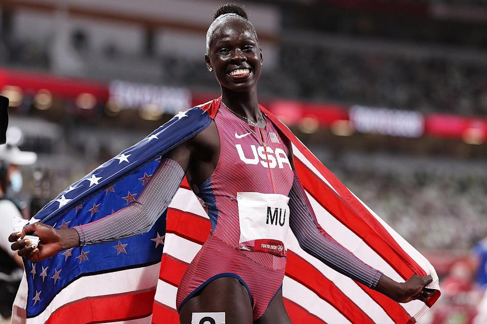"""<p>Biography: 19 years old</p> <p>Event: Women's 800m race</p> <p>Quote: """"I'm very fun. This isn't the last time you're going to see me run. This is just the beginning. There's more.""""</p>"""