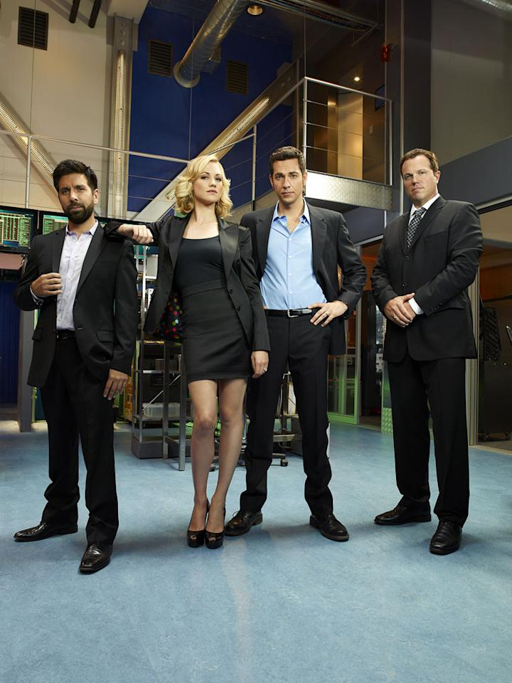 """""""<a href=""""/chuck/show/40464"""">Chuck</a>"""" — Please don't pelt us with Subway sandwiches; we recognize that NBC's goofy spy comedy has a very devoted following. But plenty of cult favorites get canned after one or two seasons, while """"Chuck"""" has managed to dodge the cancellation bullet for five seasons now. Yes, it's ending this spring, but be grateful, """"Chuck"""" fans: It had a good run!"""