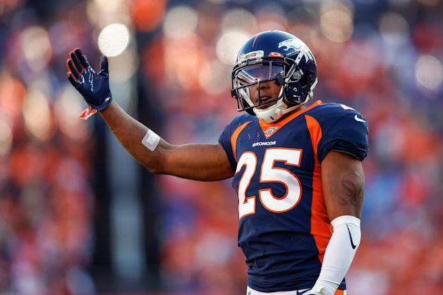 Denver's Chris Harris Jr. is considered a top cornerback in the league. (USA TODAY Sports)