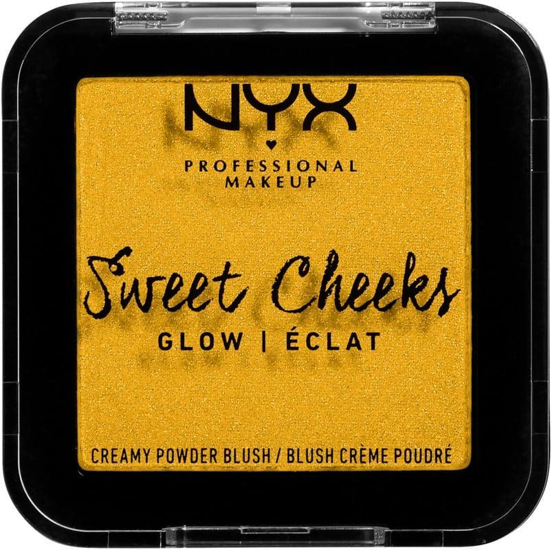 <p>Before you decide that neon yellow blush is not for you, give the <span>NYX Professional Makeup Sweet Cheeks Creamy Powder Blush in Glow</span> ($8) a chance. The satin-soft matte blush adds a pop of radiant color to deep skin tones. </p>