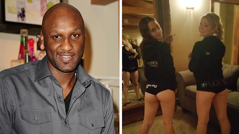 Lamar Odom Monica Monroe And Cherry Ryder