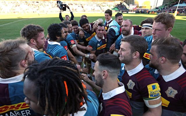 <span>Quins were a cut above their opponents</span> <span>Credit: getty images </span>