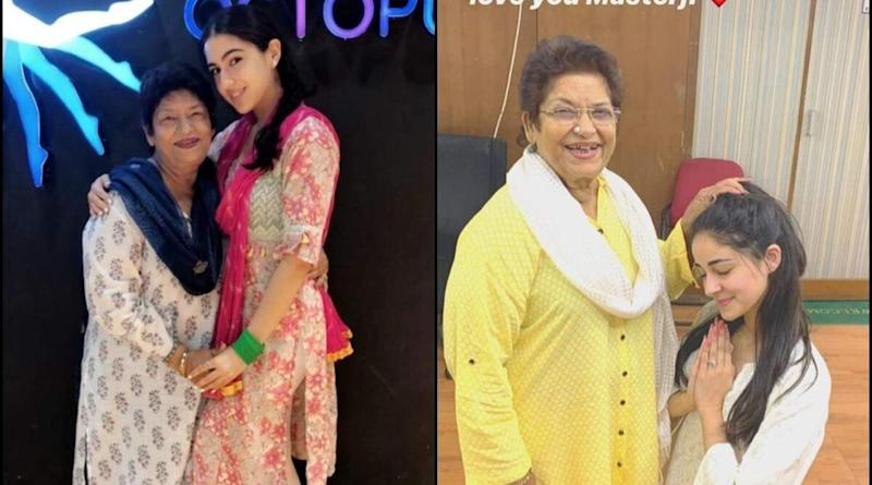 Saroj Khan Was Happy to Be a Part of Sara Ali Khan and Ananya Panday's Journeys, Says Late Choreographer's Daughter