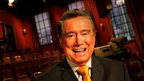 """Longtime TV host Regis Philbin, who died Friday at age 88. <span class=""""copyright"""">(Carolyn Cole / Los Angeles Times)</span>"""