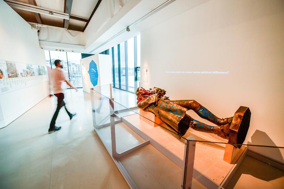 <p>The display opens on Friday (Ben Birchall/PA)</p> (PA Wire)