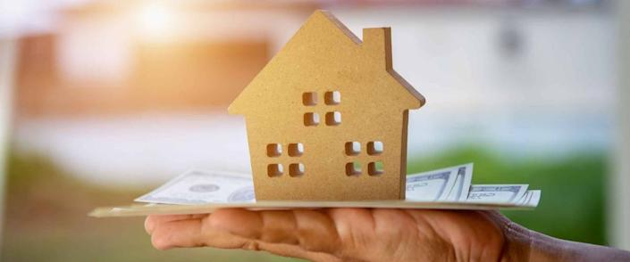 Concept of mortgage closing costs