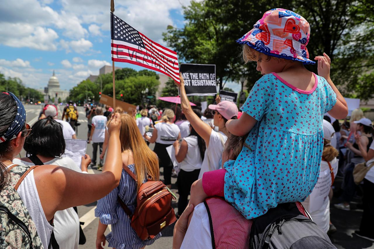 'Families Belong Together' Marches Protest Trump Immigration Policies Nationwide