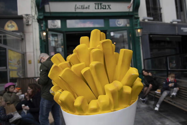 Belgium needs your help eating french fries