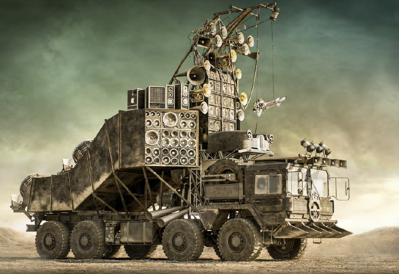 THE DOOF WAGON from Mad Max Fury Road