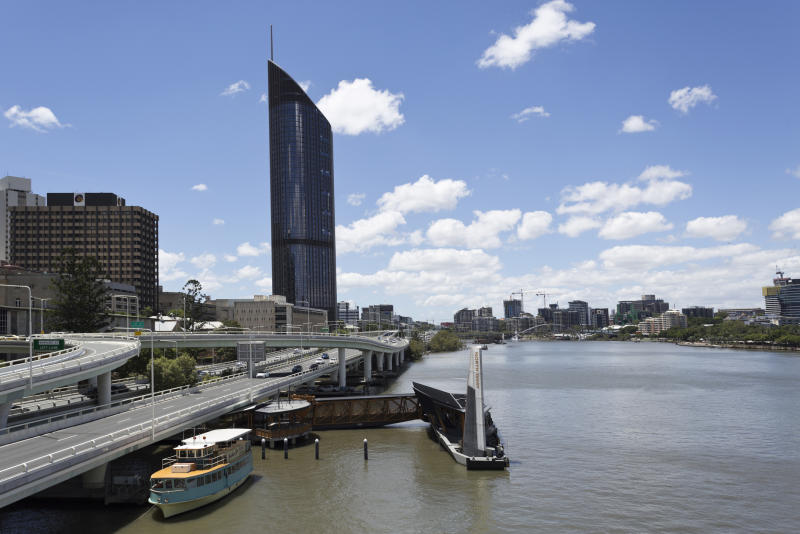 Panoramic view of the modern city of Brisbane, Australia. (Source: Getty)