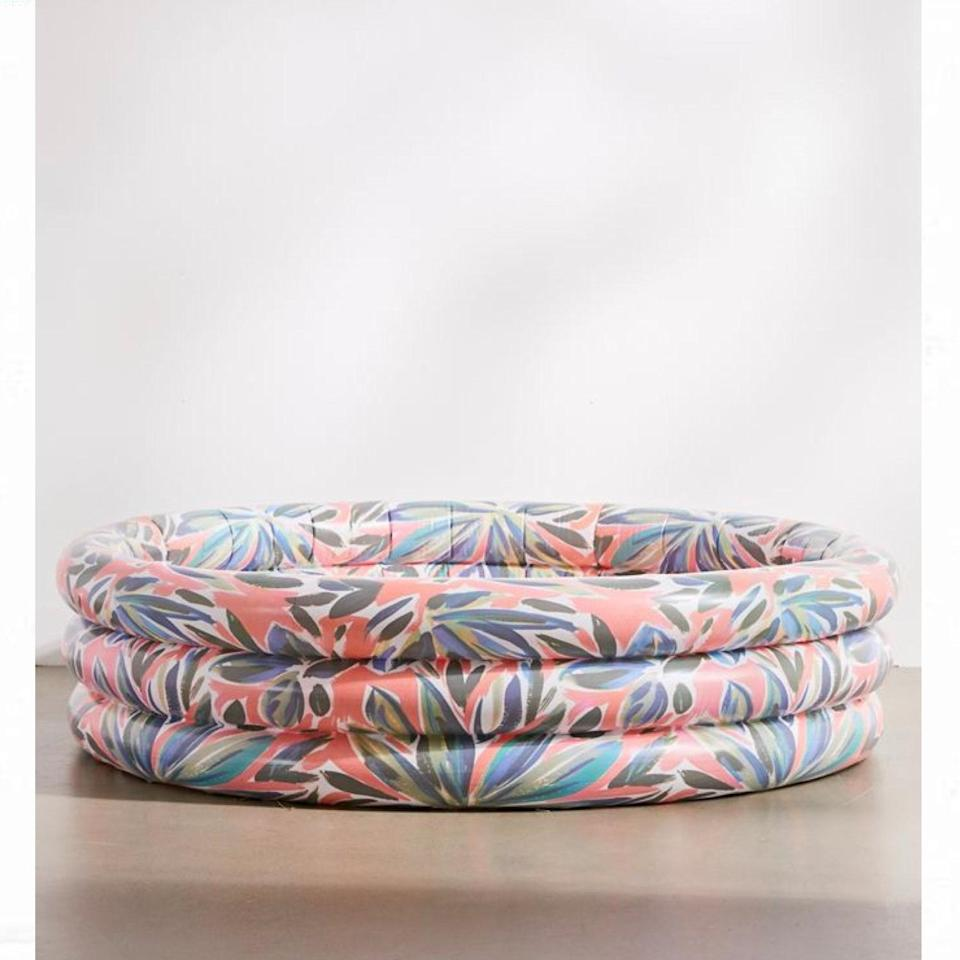 """The quarantined artiste needs this painterly pool on their porch, stat. $59, Urban Outfitters. <a href=""""https://www.urbanoutfitters.com/shop/funboy-mini-inflatable-pool"""" rel=""""nofollow noopener"""" target=""""_blank"""" data-ylk=""""slk:Get it now!"""" class=""""link rapid-noclick-resp"""">Get it now!</a>"""