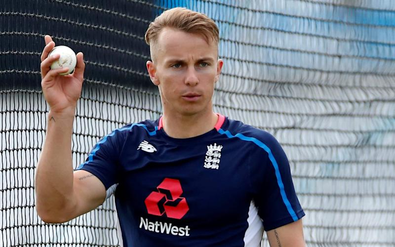 Tom Curran is battling for a place in England's Cricket World Cup squad this summer - Action Images via Reuters