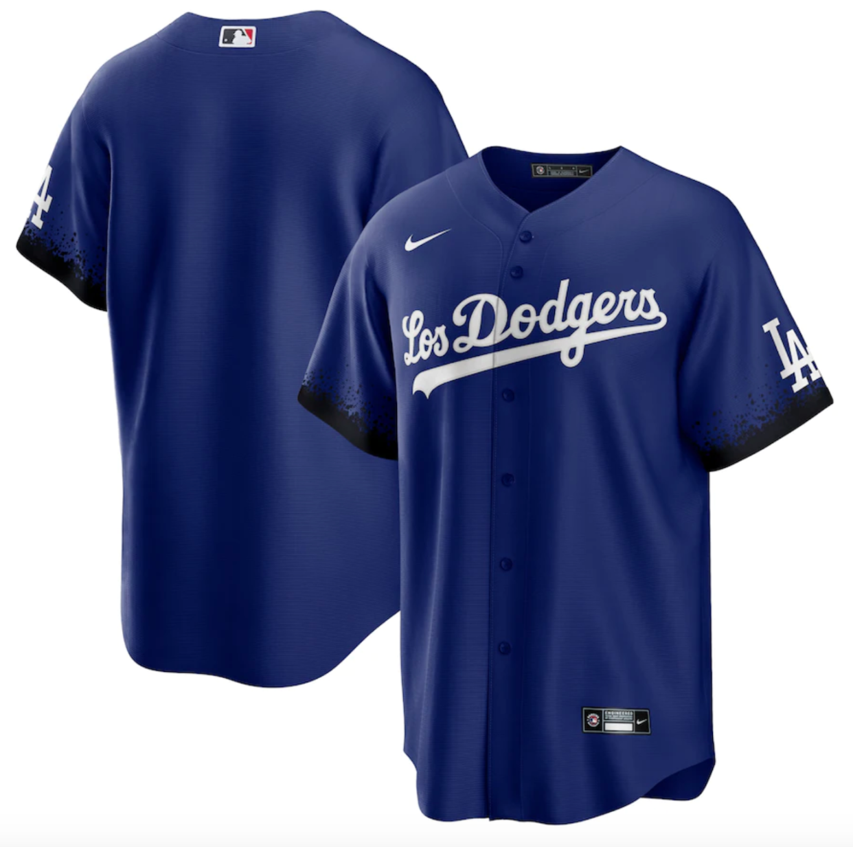 Dodgers Nike Royal 2021 City Connect Replica Jersey