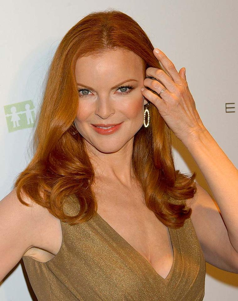 "From her sizzling nights on ""Melrose Place"" to her icy days on Wisteria Lane, Marcia Cross has managed to maintain the hottest head of red in Hollywood. Greg DeGuire/<a href=""http://www.wireimage.com"" target=""new"">WireImage.com</a> - October 16, 2007"