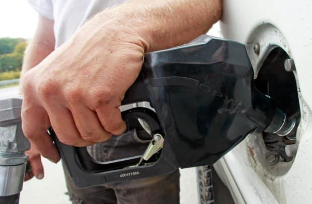 Until recently gas prices had been running about $1.30/litre. (AP - image credit)