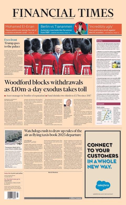 Financial Times - Credit: Financial Times