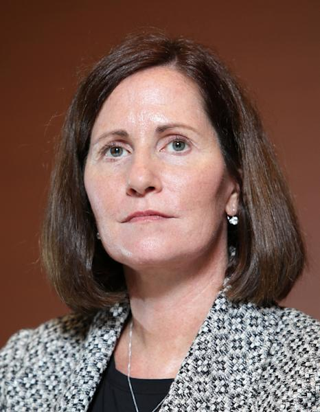 Julie Hamp, 55, Toyota Motor's managing officer and chief communications officer in Nagoya (AFP Photo/)