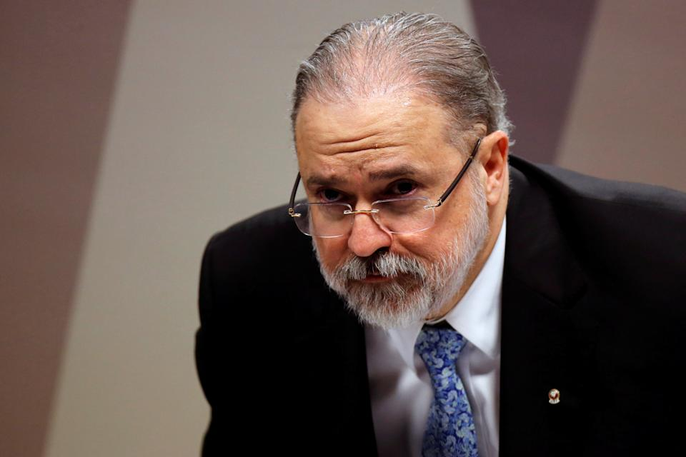 Prosecutor-general nominee Augusto Aras attends a session of the Committee on Constitution and Justice of the Senate in Brasilia, Brazil September 25, 2019. REUTERS/Adriano Machado