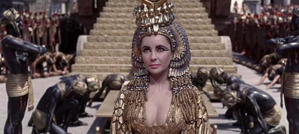 Elizabeth Taylor in Cleopatra (Credit: 20th Century Fox)