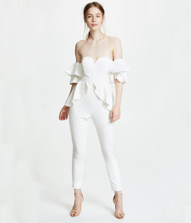 "<p>The Perry Jumpsuit, $329, <a href=""https://www.shopbop.com/perry-jumpsuit-fame-partners/vp/v=1/1553541922.htm?fm=pd_sb_pd_sims_v_1&os=false"" rel=""nofollow noopener"" target=""_blank"" data-ylk=""slk:shopbop.com"" class=""link rapid-noclick-resp"">shopbop.com</a> </p>"