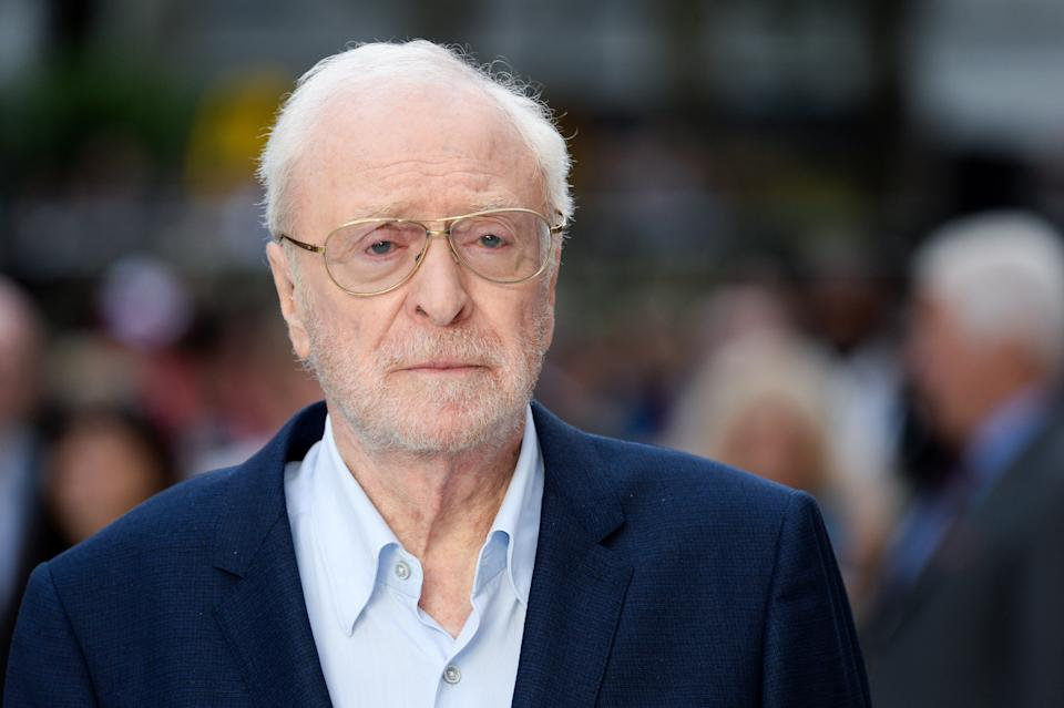 Michael Caine arriving at the World Premiere of King of Thieves, Vue West End, Leicester Square, London. Photo credit should read: Doug Peters/EMPICS
