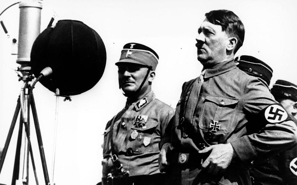Chips was an admirer of Adolf Hitler in the dictator's early years; Kiel, 1933 - Enemy of the People/AP
