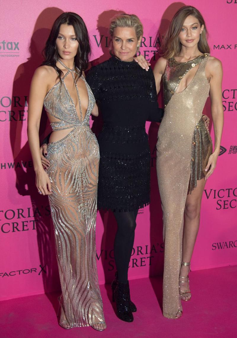 Meanwhile Gigi's mother Yolanda and sister Bella battle Lyme disease. Source: Getty