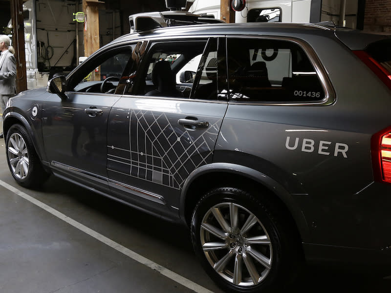 Uber Says Its Self-Driving Cars Have a \