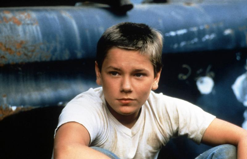 """River Phoenix as Chris Chambers in Rob Reiner's """"Stand By Me"""" (1986)"""
