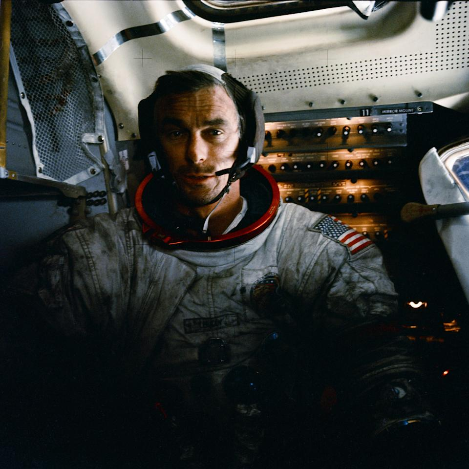 "<p>NASA astronaut Eugene ""Gene"" Cernan died on Jan. 16 at age 82. Cernan is the last man to have walked on the moon, during the Apollo 17 mission in December 1972. (Photo: NASA) </p>"