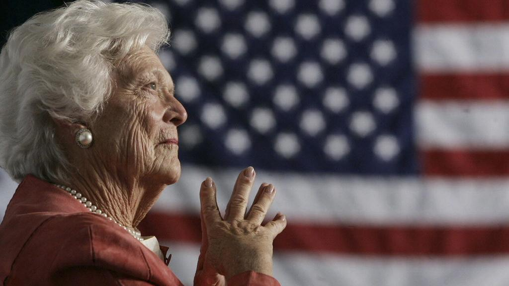 Former first lady Barbara Bush is doing better after being hospitalized for a respiratory related problem.