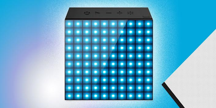 """<div class=""""caption""""> Disco balls are so last year. This smart clock/speaker comes with a colored LED display that changes with your music and projects personalized animations. No. Big. Deal. <br> <a href=""""https://amzn.to/2MWExYB"""" rel=""""nofollow noopener"""" target=""""_blank"""" data-ylk=""""slk:SHOP NOW"""" class=""""link rapid-noclick-resp"""">SHOP NOW</a>: AuraBox Clock Speaker, $35, amazon.com<br> </div> <cite class=""""credit"""">Photo courtesy of MoMa</cite>"""